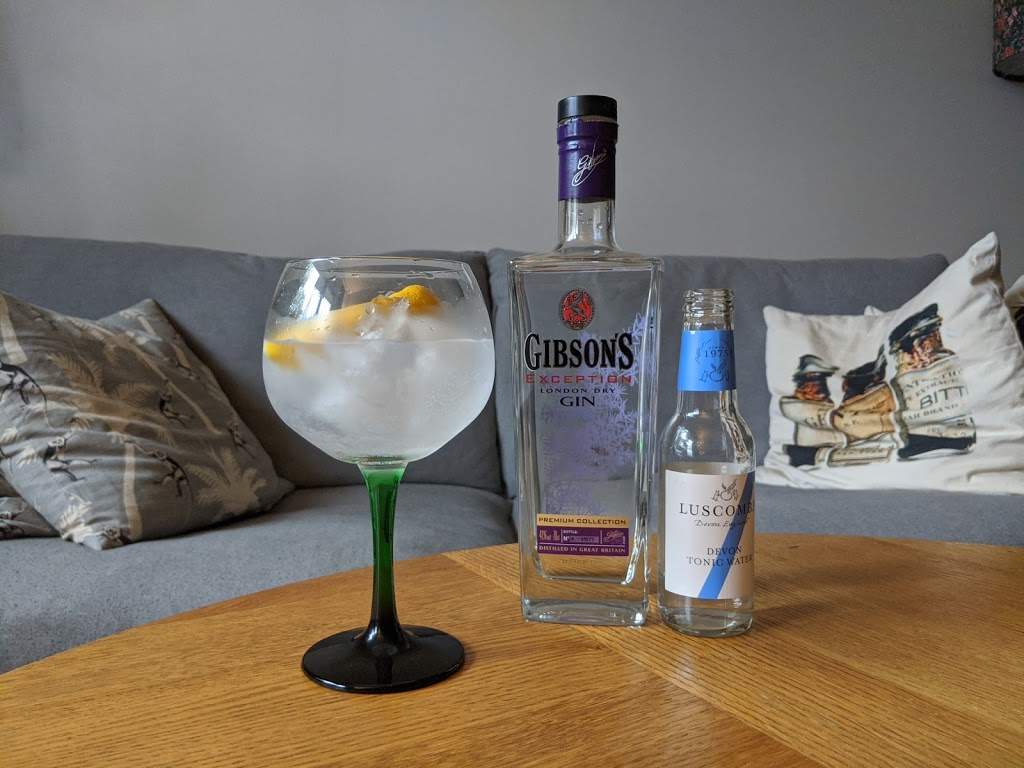 Review: Gibson's Exception London Dry Gin, Trader Magnus